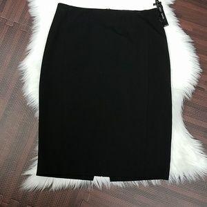 NWT Black WHBM Classy Skirt